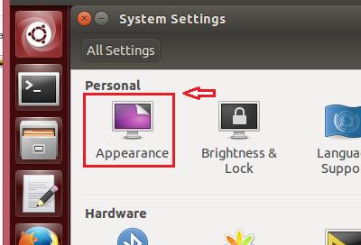 Ubuntu Apperance
