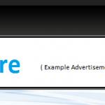 Wordpress Graphene top banner advertisement